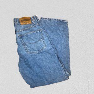 Vintage 90s Anchor Blue Mom Jeans Size 30